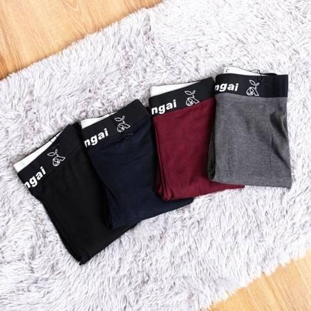Темно-сині тканинні гетри - Одяг