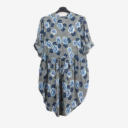 Туніка з малюнком для жінок в кольорі хакі - Блузки 1
