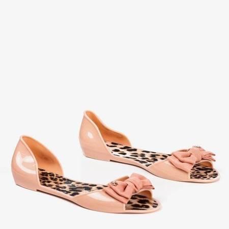 Туфлі з меліси з порошком з бантом Oryna - Взуття 1