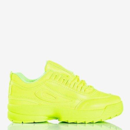Це все неонові зелені жіночі кросівки - Взуття