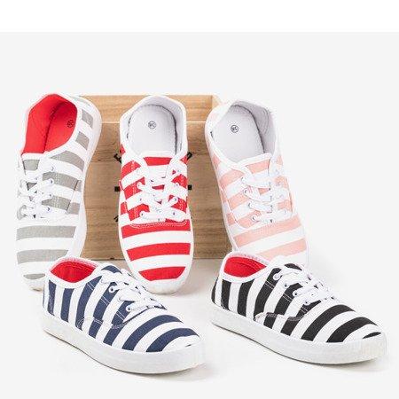 Червоні жіночі мокасини Anchor - Взуття