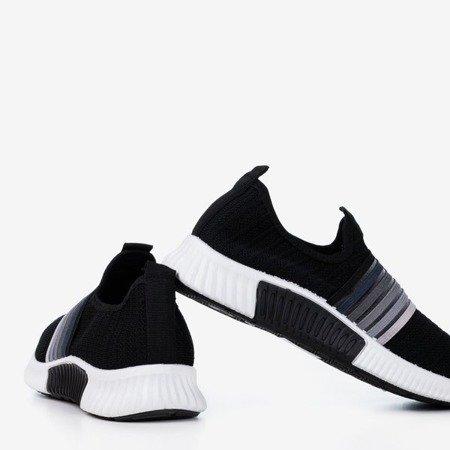 Чорно-біле жіноче спортивне взуття - на Sweet Rainbow - Взуття