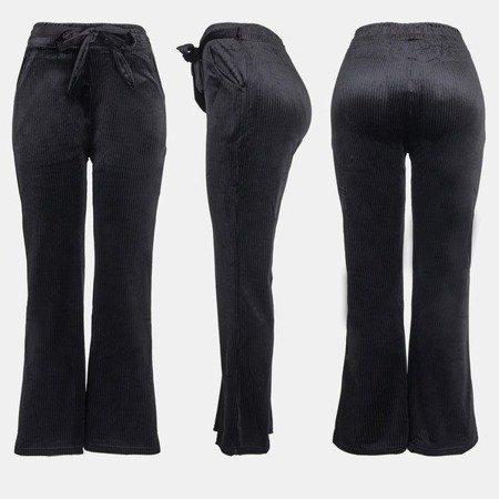 Чорні жіночі прямі штани - Штани 1