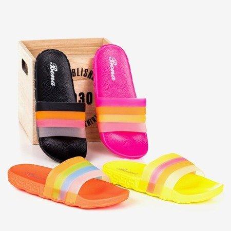 Чорні жіночі шльопанці Florinda - Взуття 1