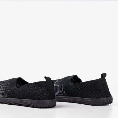 Чорні кросівки тапочки Yeques - Взуття 1
