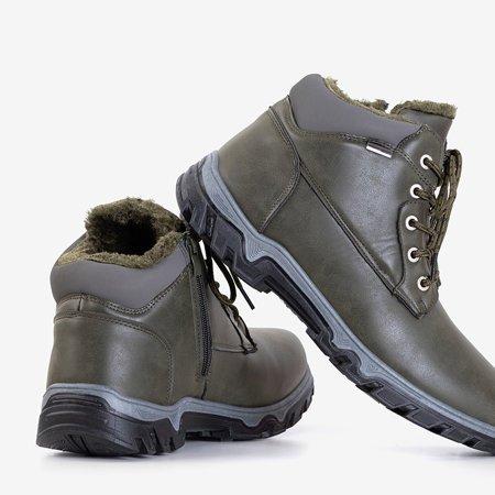 Чоловічі черевики-трапери в кольорі хакі Huraw - Взуття