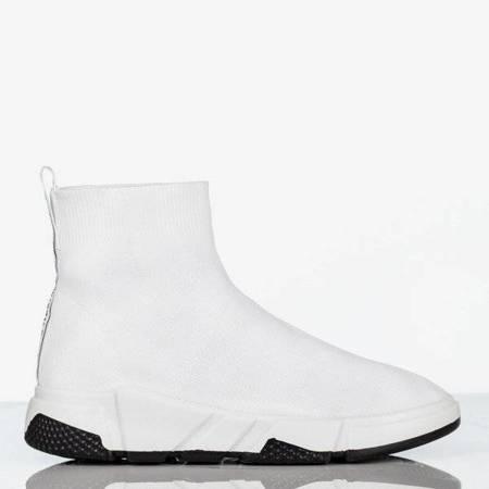 OUTLET Жіноче біле спортивне взуття з верхнім носком Nyla - Взуття